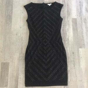 Moving! Gorgeous studded black Cache dress